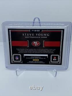 Steve Young 2020 Impeccable Football On Card Auto HOF 2/5 49ers