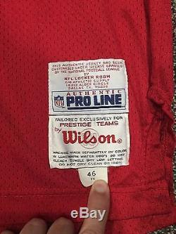 Steve Young Game Worn Issued Jersey San Francisco 49ers Wilson