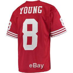 Steve Young Mitchell & Ness San Francisco 49ers Football Jersey NFL