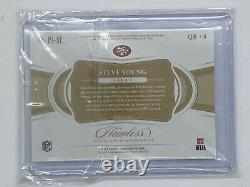 Steve Young Panini Flawless Patch Auto 1/2 2018 San Francisco 49ers