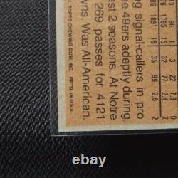 Topps 1981 Joe Montana Rookie Card #216 San Francisco 49ers RC Football (2-2)