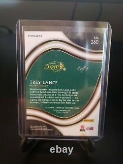 Trey Lance 2021 Chronicles Draft FOTL Select GOLD VINYL SUPERFRACTOR 1/1 49ers