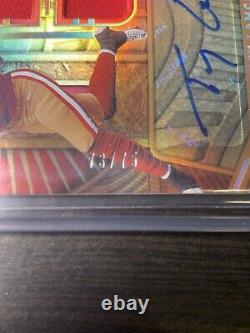 Trey Lance 2021 Panini Gold Standard RPA Triple Patch Auto /75 PRO UNIFORM