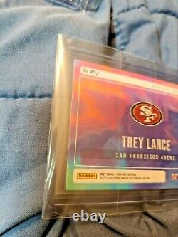 Trey Lance 2021 Prestige Football RP-3 Rookie Portraits NO RESERVE