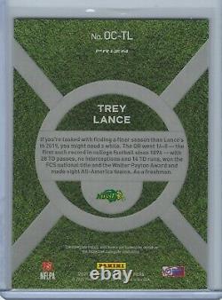 Trey Lance 2021 Prizm Draft Picks On Campus