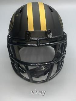 Trey Lance Autographed San Francisco 49ers Eclipse Mini Helmet With Beckett COA