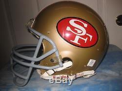 Vintage 1980's, 49'ers Roger Craig, Authentic Riddell Wd1 Football Helmet