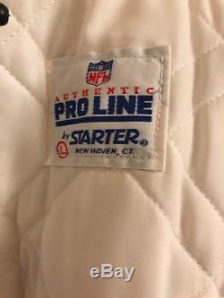 VTG NFL San Francisco 49ers Satin Starter Jacket Pro Line Size Large