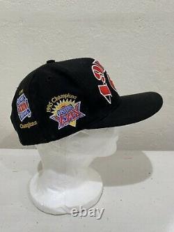 Vintage 49ERS 90s San Francisco 49ers Superbowl Snapback Hat by Annco Cap
