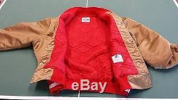Vintage 80s San Francisco 49ers Throwback Satin Starter Jacket xxl 2xl Nice