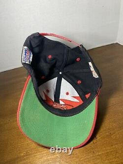 Vintage 90s San Francisco 49ers Logo Athletic Sharktooth Snapback Hat Cap