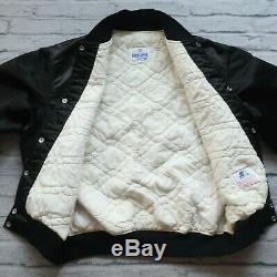 Vintage 90s San Francisco 49ers Satin Jacket by Starter Size XL Black