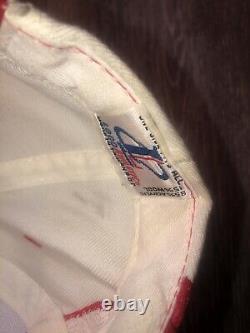 Vintage 90s San Francisco 49ers Sharktooth Snapback Hat Logo Athletics