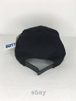 Vintage 90s Sports Specialties San Francisco 49ers Script Hat Cap Black Dome