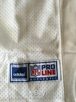 Vintage Adidas Authentic San Francisco 49ers Terrell Owens Jersey NWT Size 52