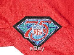 Vintage Authentic Joe Montana San Francisco 49ers Wilson Pro Line Jersey Sz 44