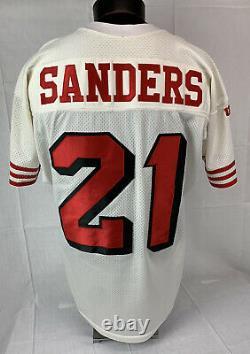 Vintage Deion Sanders Jersey Authentic San Francisco 49ers Wilson NFL Mens 48