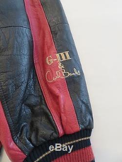 Vintage G-III & Carl Banks Men's LARGE Leather San Francisco 49ers Jacket