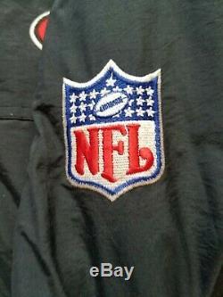 Vintage Mens Starter San Francisco 49ers Hooded Jacket Size Large-Black