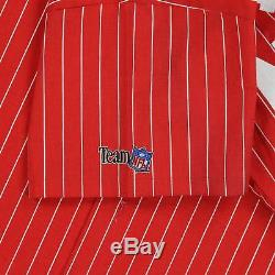 Vintage NEW San Francisco 49ers Niners Pinstripe Jersey by Chalk Size L