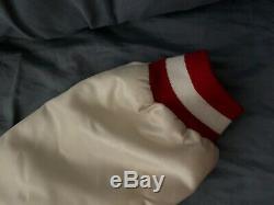 Vintage San Francisco 49ers Chalk Line size L White Red Rare