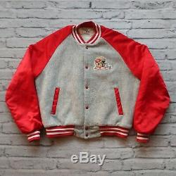 Vintage San Francisco 49ers Satin Jacket by Chalk Line Made in USA L 80s
