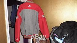 Vintage San Francisco 49ers Throwback Wool Varsity Starter Jacket XL
