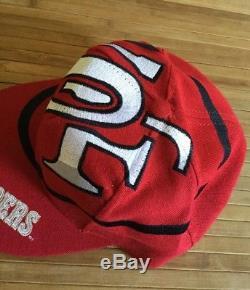 Vintage The Game Big Logo San Francisco 49ers Snapback Hat