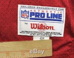 Vintage Wilson Authentic Pro Line San Francisco 49ers Deion Sanders Jersey Patch