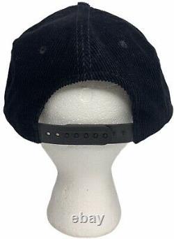 Vtg San Francisco 49ers Youngan Headwear Corduroy Snapback Slide Hat SF Niners