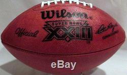 Wilson Super Bowl XXIII Official Game Football (23) San Francisco 49'ers